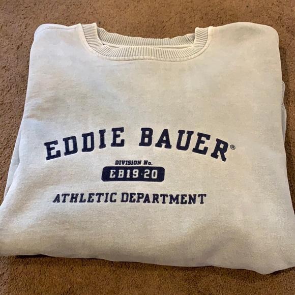 Eddie Bauer large sweatshirt